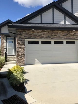 Photo 1: 17 55 Cranford Drive: Sherwood Park House Half Duplex for sale : MLS®# E4211731