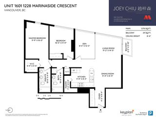 "Photo 20: 1601 1228 MARINASIDE Crescent in Vancouver: Yaletown Condo for sale in ""CRESTMARK II"" (Vancouver West)  : MLS®# R2390901"