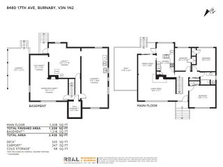 """Photo 2: 8480 17TH Avenue in Burnaby: East Burnaby House for sale in """"East Burnaby"""" (Burnaby East)  : MLS®# R2445505"""