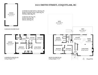 Photo 35: 1411 SMITH Avenue in Coquitlam: Central Coquitlam House for sale : MLS®# R2477990
