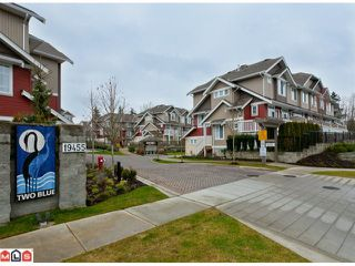 "Photo 1: 51 19455 65TH Avenue in Surrey: Clayton Townhouse for sale in ""Two Blue"" (Cloverdale)  : MLS®# F1203766"