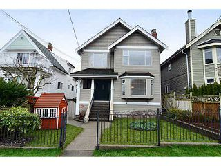 """Photo 1: 35 W 15TH Avenue in Vancouver: Mount Pleasant VW House Duplex for sale in """"MOUNT PLEASANT WEST"""" (Vancouver West)  : MLS®# V996233"""