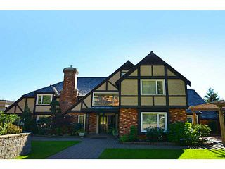 Photo 1: 1182 EYREMOUNT in West Vancouver: British Properties House for sale : MLS®#  V1037986