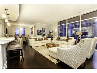 Photo 3: # 1202 1280 RICHARDS ST in Vancouver: Yaletown Condo for sale (Vancouver West)  : MLS®# V1064912