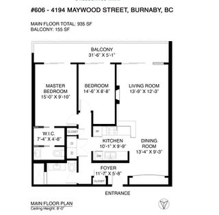 "Photo 28: 606 4194 MAYWOOD Street in Burnaby: Metrotown Condo for sale in ""Park Avenue Towers"" (Burnaby South)  : MLS®# R2493615"