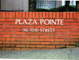 """Photo 22: # 402 - 98 10TH Street in New Westminster: Downtown NW Condo for sale in """"PLAZA POINTE"""" : MLS®# V1018924"""