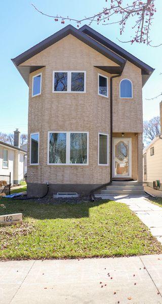 Photo 1: 160 Burrin Avenue in Winnipeg: Single Family Detached for sale (4D)  : MLS®# 1911971