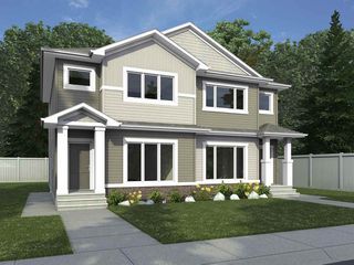 Photo 1: 5925 137 Avenue in Edmonton: Zone 02 House Half Duplex for sale : MLS®# E4176556