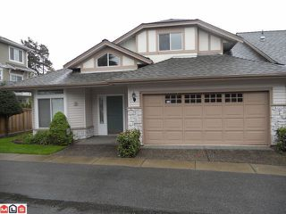 Photo 1: 29 16325 82ND Avenue in Surrey: Fleetwood Tynehead Townhouse for sale : MLS®# F1211194