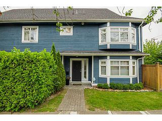 Photo 1: 2608 ST CATHERINES ST in Vancouver: Mount Pleasant VE Condo for sale (Vancouver East)  : MLS®# V1076517