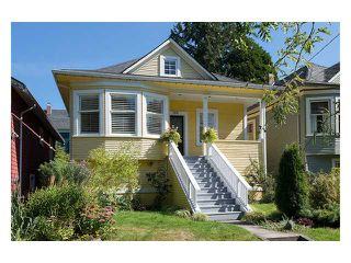 Main Photo: 2916 MANITOBA Street in Vancouver: Mount Pleasant VW House for sale (Vancouver West)  : MLS®# V1083696