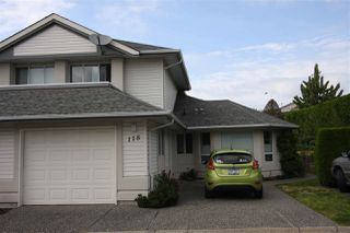 Photo 1: 118 31406 UPPER MACLURE ROAD in Abbotsford: Abbotsford West Townhouse for sale : MLS®# R2093329