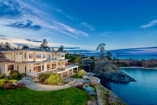 Photo 2: Oceanfront prestigious Masterpiece 4461 Shore Way Victoria BC