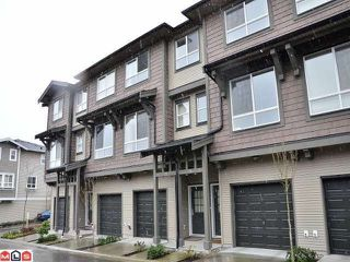 "Photo 1: 73 2729 158TH Street in Surrey: Grandview Surrey Townhouse for sale in ""KALEDEN"" (South Surrey White Rock)  : MLS®# F1204967"