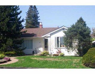Main Photo: 331 CHURCHILL AV in New Westminster: The Heights NW House for sale : MLS®# V587506