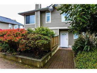 "Main Photo: 12 849 TOBRUCK Avenue in North Vancouver: Hamilton Townhouse for sale in ""Garden Terrace"" : MLS®# V1002669"