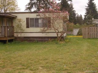 Photo 1: 4781 Lewis Rd in CAMPBELL RIVER: CR Campbell River South Manufactured Home for sale (Campbell River)  : MLS®# 638557
