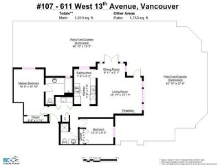 """Photo 14: 107 611 W 13TH Avenue in Vancouver: Fairview VW Condo for sale in """"Tiffany Court"""" (Vancouver West)  : MLS®# V1005478"""