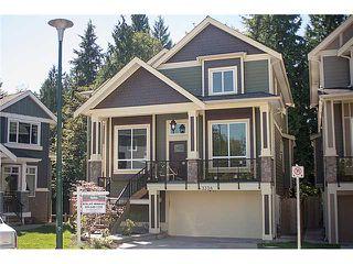 Photo 1: 3338 LESTON AV in Coquitlam: Burke Mountain House for sale : MLS®# V1023252