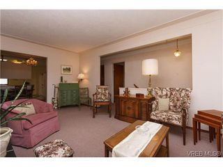 Photo 4: 3836 Epsom Dr in VICTORIA: SE Cedar Hill Full Duplex for sale (Saanich East)  : MLS®# 631569