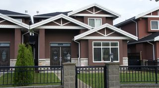 Photo 1: 5009 Irmin Street in Burnaby: Metrotown 1/2 Duplex for sale (Burnaby South)