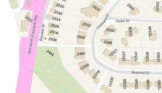 Photo 1: 2508 BAYVIEW STREET in Surrey: Crescent Bch Ocean Pk. Land for sale (South Surrey White Rock)  : MLS®# R2058981