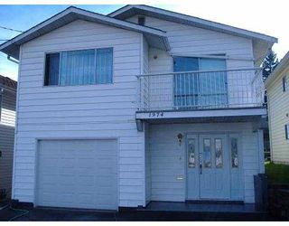 Photo 1: 1974 MCLEAN AV in Port Coquiltam: Mary Hill House for sale (Port Coquitlam)  : MLS®# V575821