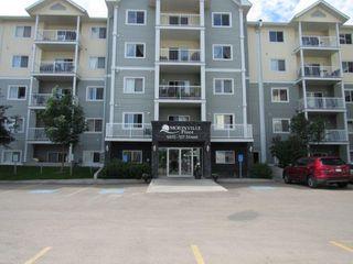 Photo 1: 321, 9910 - 107 Street in Morinville: Condominium for rent
