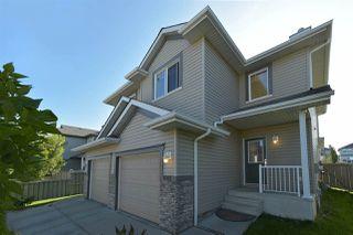 Main Photo: 1657 MELROSE Place in Edmonton: Zone 55 House Half Duplex for sale : MLS®# E4172664