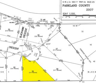 Photo 2: 59 25527 TWP RD 511 A: Rural Parkland County Rural Land/Vacant Lot for sale : MLS®# E4191646