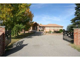 Photo 2: 30084 SPRINGBANK Road in CALGARY: Rural Rocky View MD Residential Detached Single Family for sale : MLS®# C3540703