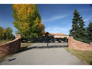 Photo 1: 30084 SPRINGBANK Road in CALGARY: Rural Rocky View MD Residential Detached Single Family for sale : MLS®# C3540703