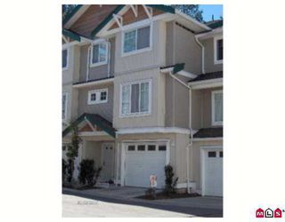 "Photo 1: 18 12711 64TH AV in Surrey: West Newton Townhouse for sale in ""Palette on the Park"" : MLS®# F2619669"