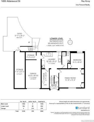 Photo 23: 1650 Alderwood St in : SE Lambrick Park Single Family Detached for sale (Saanich East)  : MLS®# 855020